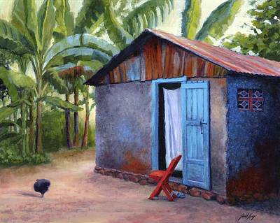 Painting - Life In Haiti by Janet King
