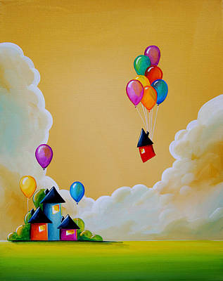 Whimsy Painting - Life Of The Party by Cindy Thornton