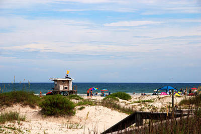 Jetty View Park Photograph - Lifeguard On Duty by Susanne Van Hulst
