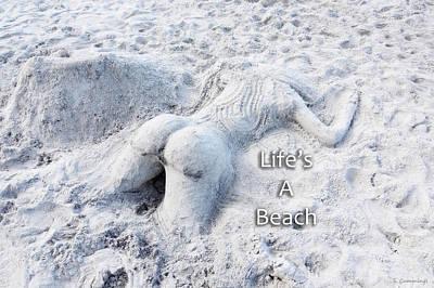 Buttocks Photograph - Life's A Beach By Sharon Cummings by Sharon Cummings