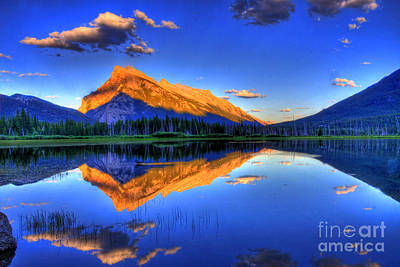 Mountain View Photograph - Life's Reflections by Scott Mahon