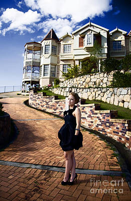 Woman Enjoying Life Photograph - Lifestyle Of The Rich And Famous by Jorgo Photography - Wall Art Gallery