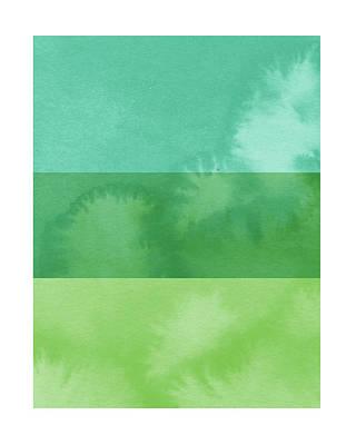 Light Breeze- Art By Linda Woods Print by Linda Woods