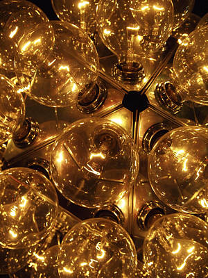 Street Photograph - Light Bulbs by Joseph Thiery