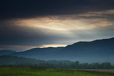 Light From Above Print by Andrew Soundarajan