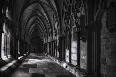 Horizontal Photograph - Light In The Corridor by Andrew Soundarajan