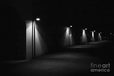 Photograph - Light Puddles - The Rocks - Sydney - Australia by Bryan Freeman