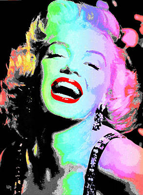 light show Marilyn Original by Lawrence O'Toole