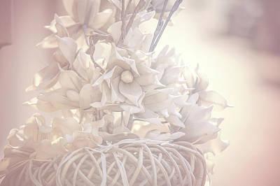 Flower Design Photograph - Light Vintage Dream. Dutch Flowers by Jenny Rainbow