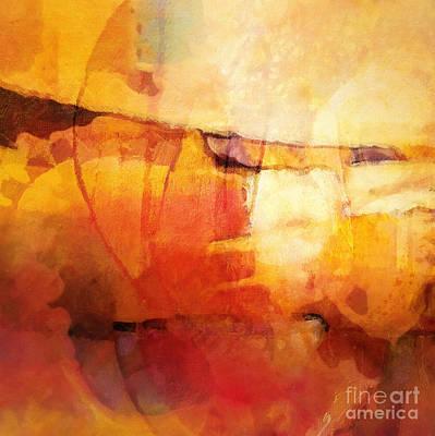 Hypnotic Painting - Lightbreak by Lutz Baar