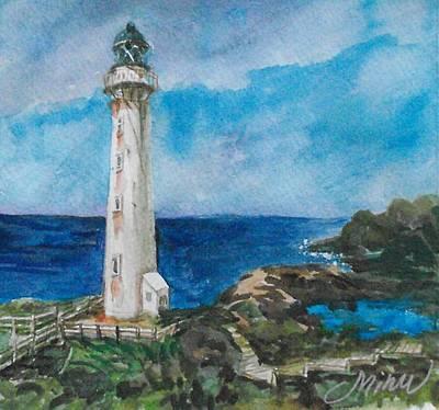 Lighthouse 3 Original by Min Wang