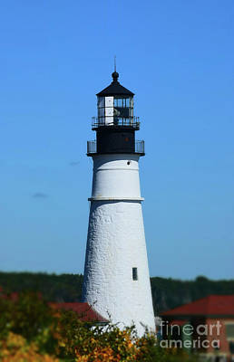 Photograph - Lighthouse Maine by Patti Whitten