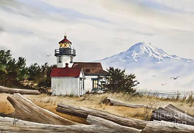 Lighthouse Splendor Print by James Williamson