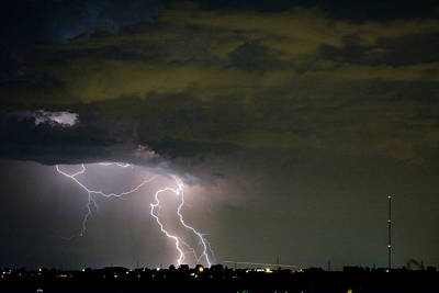 Images Lightning Photograph - Lightning Man In The Clouds by James BO  Insogna
