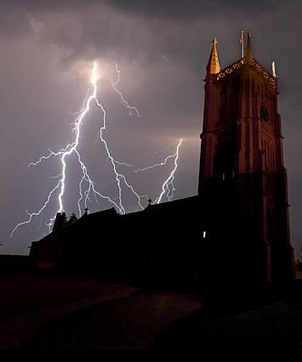 Lightning Storm Print by Jody Gaisford