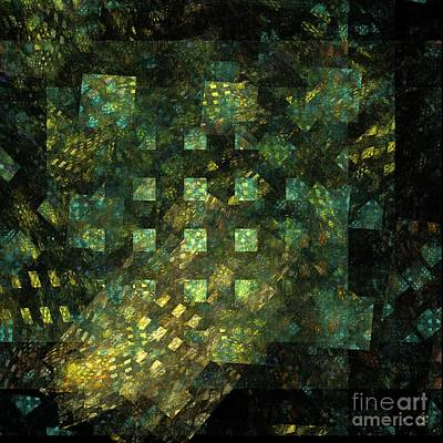 Lights In The City Print by Oni H