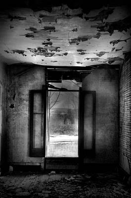 Abandoned Photograph - Like A Ghost by Emily Stauring
