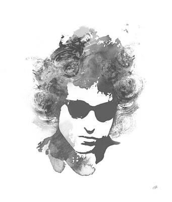 Bob Dylan Digital Art - Like A Rolling Stone by Laurence Adamson