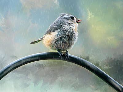 Lil Tit Mouse's Morning Shower Original by Mary Timman