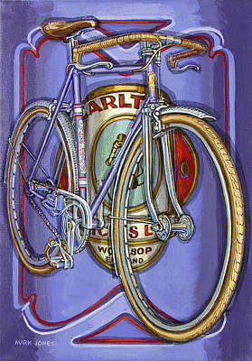 Painting - Lilac Carlton Porteur by Mark Howard Jones