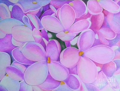 Lilac Original by Marijan Trut