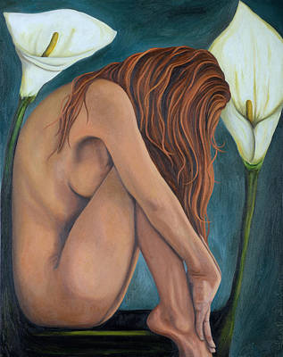 Lily Original by Leah Saulnier The Painting Maniac
