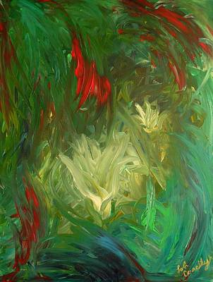 Painting - Lily by Lola Connelly