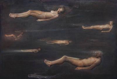 Void Painting - Limbo by Odd Nerdrum