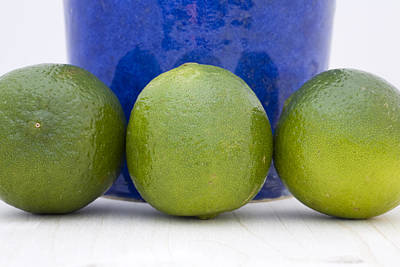 Health Food Photograph - Lime by Frank Tschakert