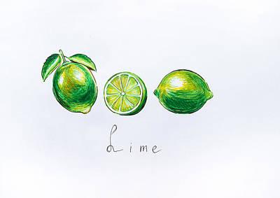 Limes Original by Viktoriya Lavtsevich