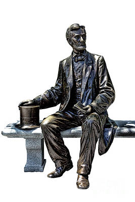 Lincoln Print by Olivier Le Queinec