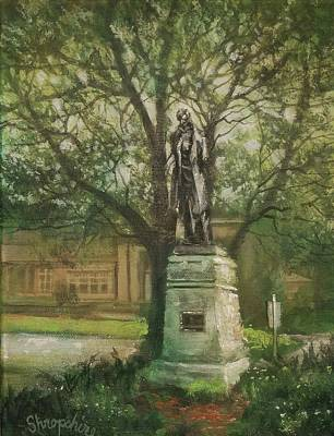 Lincoln Rises Again Original by Tom Shropshire