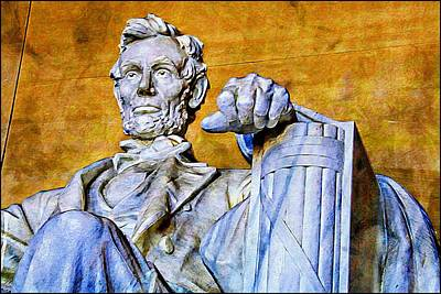 Washingtondc Photograph - Lincoln Up Close by Alice Gipson