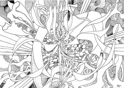 Joyful Drawing - Mindfulness  by Charles Cater