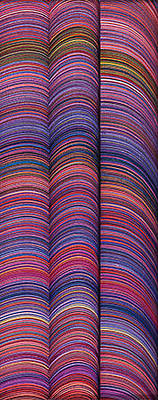 Curvilinear Painting - Lineas No.7 by George Sanen