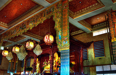 Buddhist Photograph - Lingyen Mountain Temple 1 by Lawrence Christopher