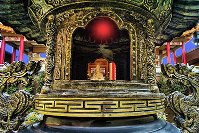 Buddhist Photograph - Lingyen Mountain Temple 29 by Lawrence Christopher