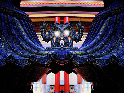 Buddhist Photograph - Lingyen Mountain Temple 34 by Lawrence Christopher