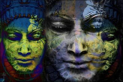 Linked Faces  Original by Daniel Arrhakis