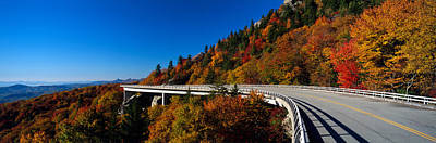 Linn Cove Viaduct Blue Ridge Parkway Nc Print by Panoramic Images
