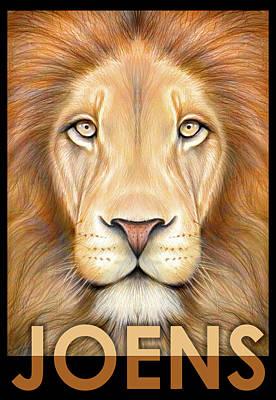 Lion Joens Print by Greg Joens