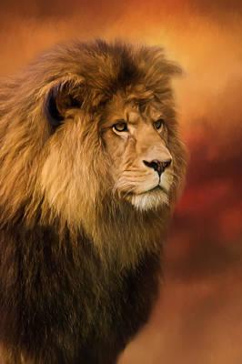 Jordan Painting - Lion Legacy - Lion Art by Jordan Blackstone
