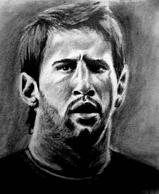 Messi Drawing - Lionel Messi by Ashish Giri