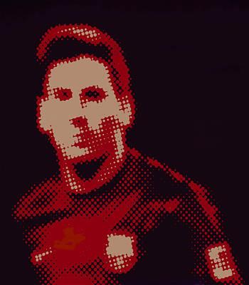 Division Digital Art - Lionel Messi  by Art Spectrum