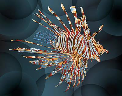 Lionfish Original by Leon Gorani