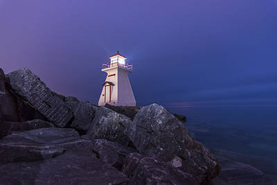 Lighthouse Photograph - Lions Head Lighthouse  by Nick Seman