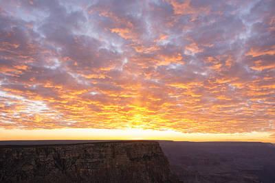 Lipon Point Sunset 3 - Grand Canyon National Park - Arizona Print by Brian Harig