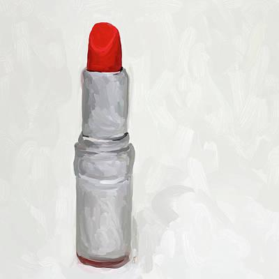 Lipstick II Print by Jai Johnson