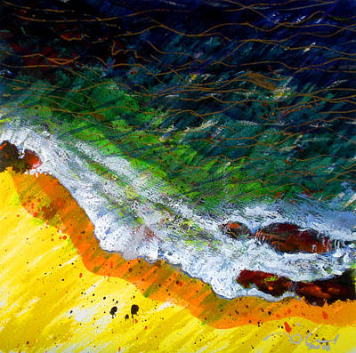 Pacific Painting - Liquid Abstract Seven by Richard Rochkovsky