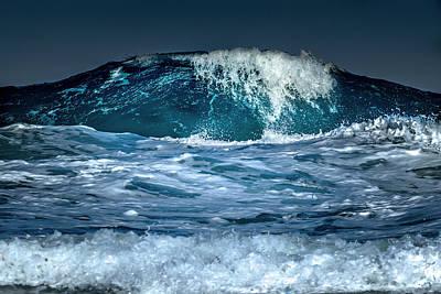 Surfing Photograph - Liquid Mountain by Stelios Kleanthous